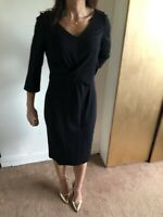 Coast Ladies Dress 14 Black Evening Cocktail Lace Party New Tags £119 Patenna