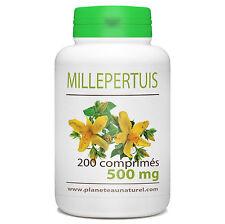 ☆☆☆ MILLEPERTUIS  200 comprimés dosés 500 mg