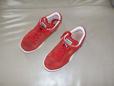 Baskets rouge *PUMA, daim, lacets, enfant P. 37