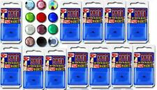 12 Illusion/fake piercings magnetic gems, body jewellery 3mm strong magnet