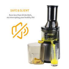 Juicer Machine Masticating Slow Juice Cold Press Extractor Maker Fruit Vegetable