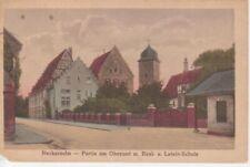 Neckarsulm Partie am Oberamt mit Schulen gl1925 84.092