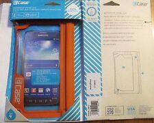 NEW ECase Waterproof Smart Phone Case Size 9 Orange Talk Listen Touchscreen