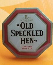 'Morland Old Speckled Hen' metal pin badge