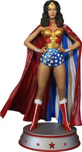 Dc Lynda Carter Wonder Woman Cape Variant Maquette Tweeterhead Sideshow statue
