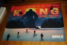 KONG SKULL ISLAND 5ft SUBWAY MOVIE POSTER 2017 KING KONG KINGKONG