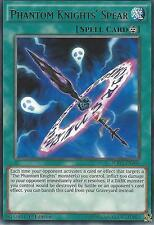 YU-GI-OH CARD: PHANTOM KNIGHTS' SPEAR - RARE - WIRA-EN008 1ST EDITION