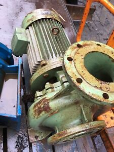"6""  Centrifugal Pump, Bonora Motor 3 Phase 15KW, 20hp"