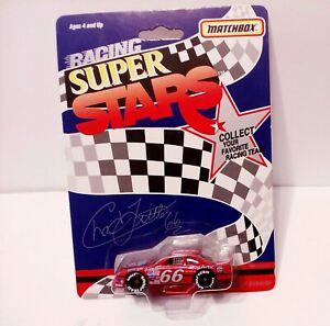 MATCHBOX ~ SUPER STARS ~ Chad Little PHILLIPS #-66 racing , new unopened card