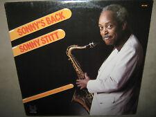 SONNY STITT Sonny's Back RARE SEALED LP 1980 MR-5204 Barry Harris Leroy Williams