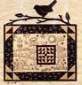 Summer Sun - stitchery & pieced wall quilt PATTERN - Kathy Schmitz