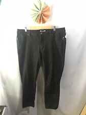 PLUS SIZE ROYALTY FOR ME BLACK SKINNY JEANS 20W
