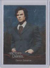 The Vampire Diaries Season 1 Insert Trading Card Foil #F02 Damon Salvatore