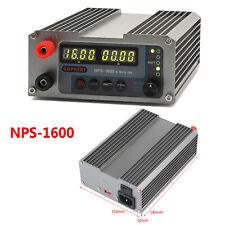 New Gophert DC Regulated Switching Power Supply NPS-1600 0-16V 0-10A 110V/220V