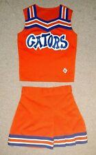 Real Authentic Orange Blue White Florida Gators Cheerleading Cheer Uniform CDT