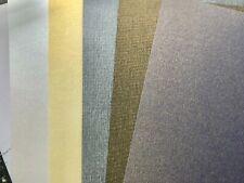 10 Sheets A4 Textured Metallic Card Stock