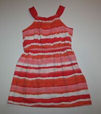 New Gymboree Painted Stripe Dress 6 year NWT Desert Dreams Cactus Rose Stripe