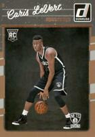 2016-17 Donruss Caris LeVert Rated Rookie Michigan Brooklyn Nets RC #167