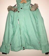 OAKLEY WOMEN'S SKI / SNOWBOARD JACKET Size MEDIUM Seafood Green Gretchen Bleiler