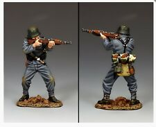WH080 WW2 debout tirant GERMAN PANZER GRENADIER Comme neuf IN BOX normandie d-day