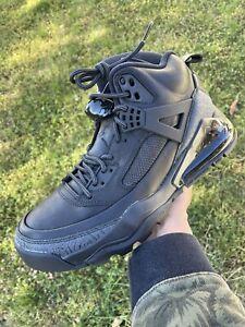 NEW Men's Nike Air Jordan Spizike 270 Black Anthracite Boots CT1014-001 Sz 9