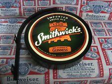 New Vtg 2007 Smithwicks Guinness Irish Beer Pub Light Bar Sign Pro Motion Al Wow