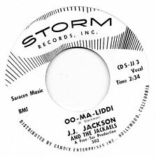 J.J.JACKSON   OO-MA-LIDDI / LET THE SHOW BEGIN     STORM  Re-Iss/Re-Pro   R&B