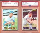 PSA 8 1967 Topps #422 Hoyt Wilhelm Chicago White Sox HOF'er SET BREAK