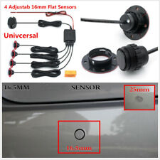 4pcs Adjustable Flat Sensors Car Parking Sensor Reverse Backup Radar System Kit