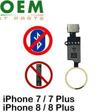 iPhone 7 8 Plus Home Button YF 4th Gen Function Restore Flex No Bluetooth Gold