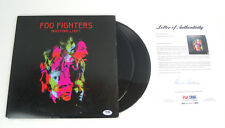 Foo Fighters Full Band Signed Autograph Wasting Light Vinyl Record PSA/DNA COA