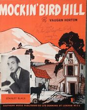 MOCKIN' BIRD HILL. -  VAUGHN HORTON. -  SHEET MUSIC