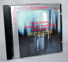 CD POULENC - Organ Concerto / Concerto for Harpsichord