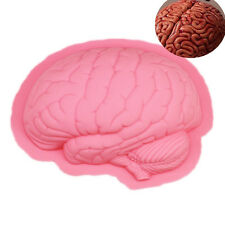 Halloween Brain Cake Mold Pan Muffin Bakeware Tray Bread Baking Mould Silicone