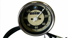 BMW 0-120 MPH MOTORCYCLE SPEEDO REPLICA FITS MANY MODELS SMITHS