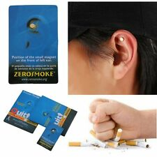 Magnet Auricular Quit Smoking Acupressure Patch No Cigarettes Health Therapy  EM