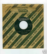 45 RPM SP JUKE BOX HENRI GENES LE BAION DE BAYONNE / EL CORYZA
