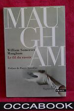 Le fil du rasoir - Somerset Maugham