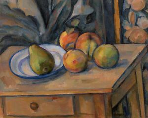 The Large Pear by Paul Cézanne 60cm x 48cm Art Paper Print