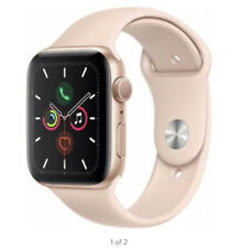 Apple Watch Series 6 40mm Gold Aluminum Case with Pink Sand Sport Band - Regular