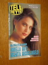 TELESETTE 1990/45=ORNELLA MUTI=MARK FRANKEL=MARIO MARENCO=NINO FRASSICA=ECT