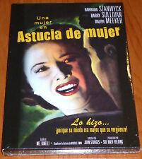ASTUCIA DE MUJER / JEOPARDY English Español DVD R2 Precintada