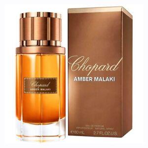 CHOPARD AMBER MALAKI * 2.7oz (80 ml) Eau de Parfum EDP Spray * NEW & SEALED