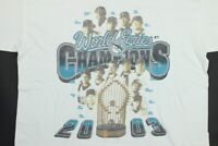 VTG Miami Florida Marlins 2003 World Series Champions Shirt XL