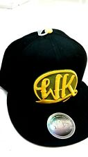 NEW WIZ  KHALIFA  MENS BASEBALL CAP  SNAP BACK HIP HOP BLACK/YELLOW