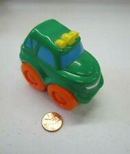 Playskool Hasbro Green Car Vehicle w/ Smile Wendy's Kid's Plastic Toy 2004