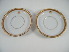 2 ~ VINTAGE ~ SCHONWALD ~ ITALIA ~ CHINA ~ SAUCERS ONLY