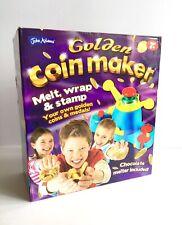 Golden Coin Maker By John Adams Kids Craft Melt Wrap Novelty Gift Birthday