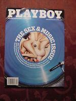 PLAYBOY April 2013 SEX and MUSIC Jaslyn Ome Gabriela Milagre Clive Davis