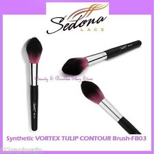 NEW Sedona Lace VORTEX SYNTHETIC TULIP CONTOUR Face Brush FB03 FREE SHIPPING